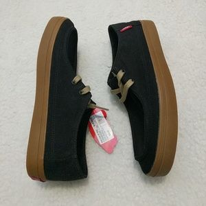 9549631e19 Vans Shoes - NIB VANS Rata Vulc SF Black Gum Shoes Men s 7